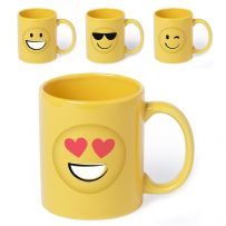 Ceramic Mugs - Emoji Cups